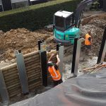 Major residential site retention - Civil Engineering - Small Works