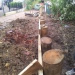 Retaining and driveways - Civil Engineering - Small Works